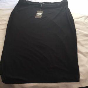 NWT Black Vince Camuto Skirt
